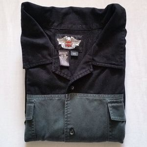 Harley-Davidson Button Up Short Sleeve Shirt